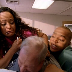 ...and Carla and Turk stop him