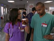 5x22-Carla takes Turk's coffee