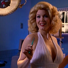Dr. Miller as Marilyn Monroe...