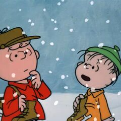 J.D. as Charlie Brown and Dr. Cox as Linus