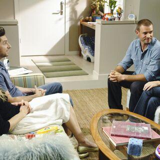 The four at Kim's apartment. <span style=