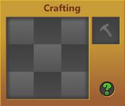 Crafting Menu