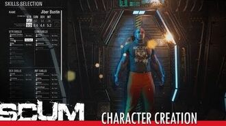 SCUM - Character Creation & Customization