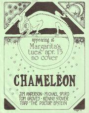 Chameleon poster '74 or '75