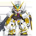 Unit b astray gold frame