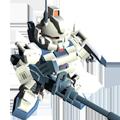 Unit br gundam ez8 180mm cannon