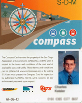Discounted Compass Card