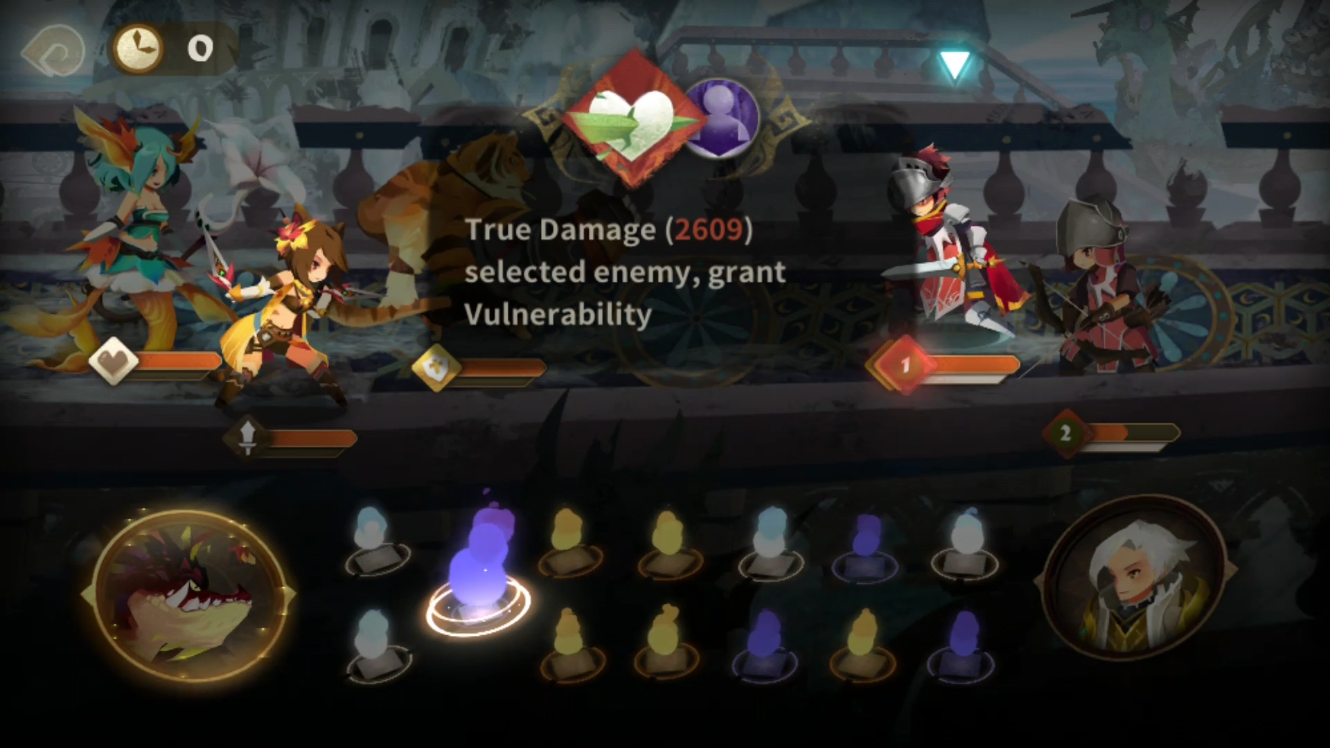 Combat Guide attacking