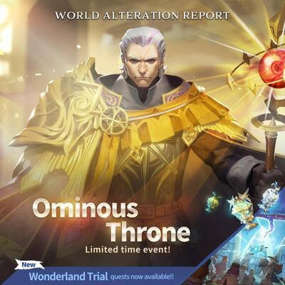 Ominous Throne Banner