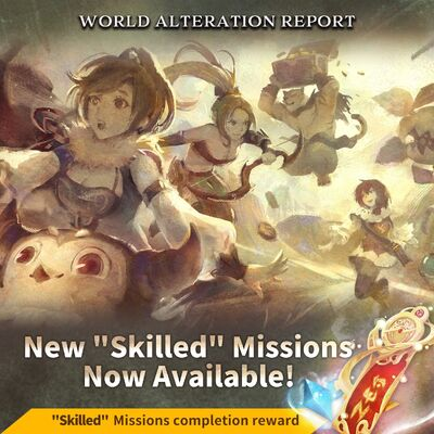 Skilled missions banner