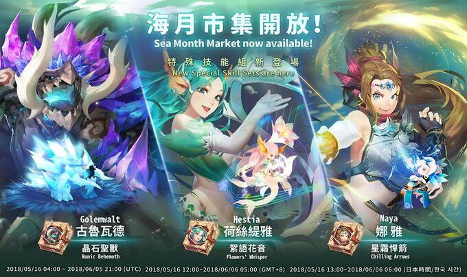 Sea Month Market Banner