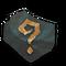Random Black Block Mineral