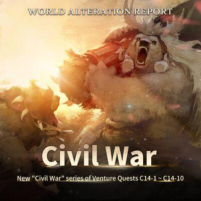 Civil War Venture Quests Banner