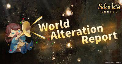 World Alternation Report Banner