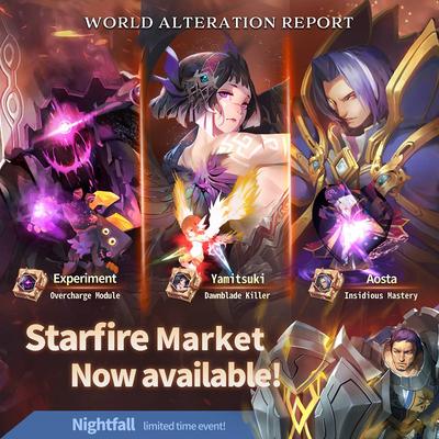 Starfire Market Banner