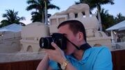 Sean taking pictures key west