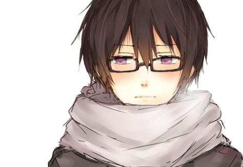 Kawaii Shy Anime Boy