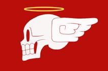 Archangel Pirates Jolly Roger Blood Flag