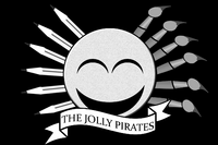 Jolly Pirates Flag Gourd Roger Version