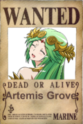 Artemis Grove - Wanted Poster