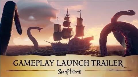 Sea of Thieves tráiler de lanzamiento en castellano