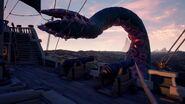 Kraken tentáculo