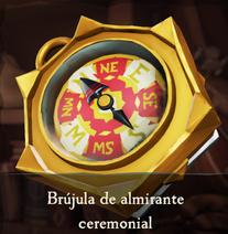 Brújula de almirante ceremonial