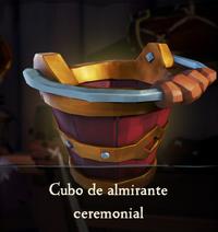 Cubo de almirante ceremonial