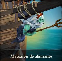 Mascarón de almirante