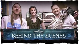 Official Sea of Thieves Behind the Scenes Skeleton AI