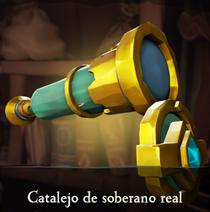 Catalejo de soberano real