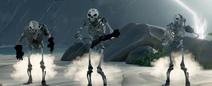 3 esqueletos