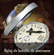 Reloj de bolsillo de almirante
