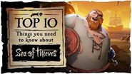 Official Top 10 Things You Need To Know About Sea of Thieves..