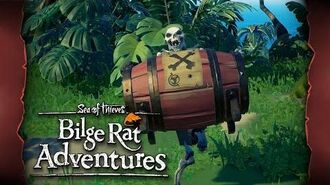 Official Sea of Thieves Bilge Rat Adventures Gunpowder Skeletons