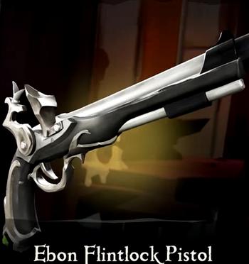 Ebon Flintlock Pistol | Sea of Thieves Wiki | FANDOM powered by Wikia