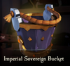 Sea of Thieves - Imperial Sovereign Bucket