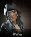 Sea of Thieves - Warface face paint