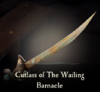 Sea of Thieves - Cutlass of The Wailing Barnacle