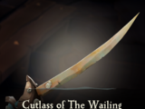 Cutlass of The Wailing Barnacle