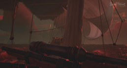 Sea of thieves red sky edge of map