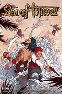 Sea of Thieves comic series issue 3 cover