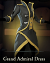 Sea of Thieves - Grand Admiral Dress