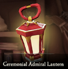 Sea of Thieves - Ceremonial Admiral Lantern