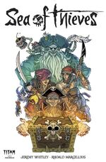 Sea of Thieves comic series issue 1 cover - white