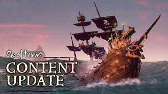 Official Sea of Thieves Content Update Cursed Sails