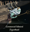 Sea of Thieves - Ceremonial Admiral Figurehead