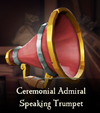 Sea of Thieves - Ceremonial Admiral Speaking Trumpet