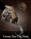 Sea of Thieves - Corsair Sea Dog Hook-0