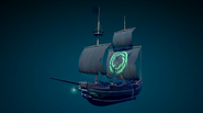 Sea of Thieves - new legendary ship sail